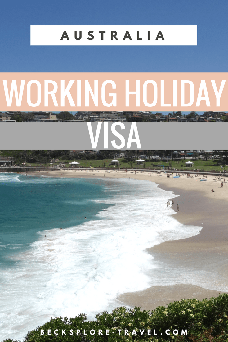 Australia - Working Holiday Visa - Requirements, Price