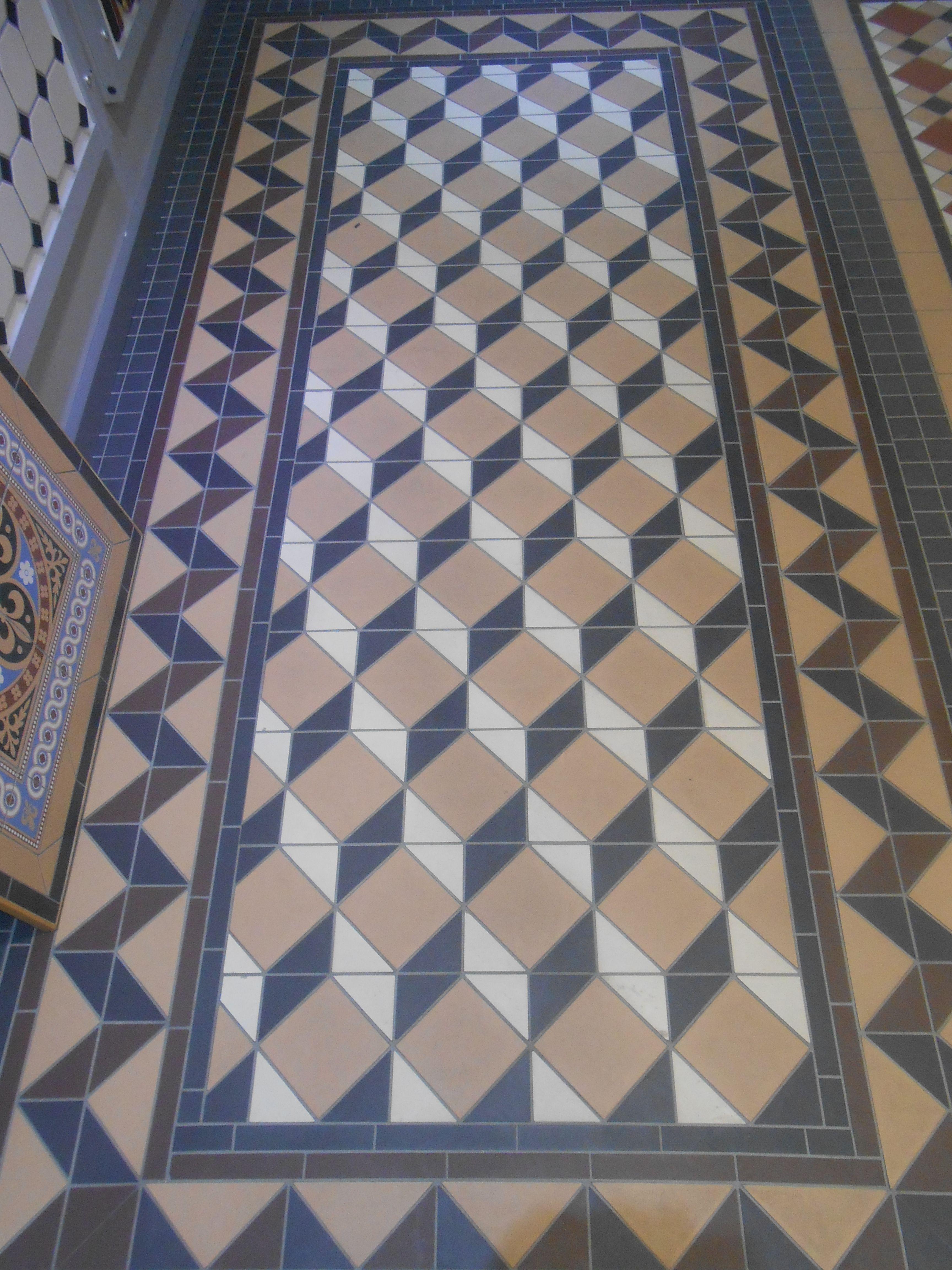 A classic Victorian hallway display at our Preston showroom www ...