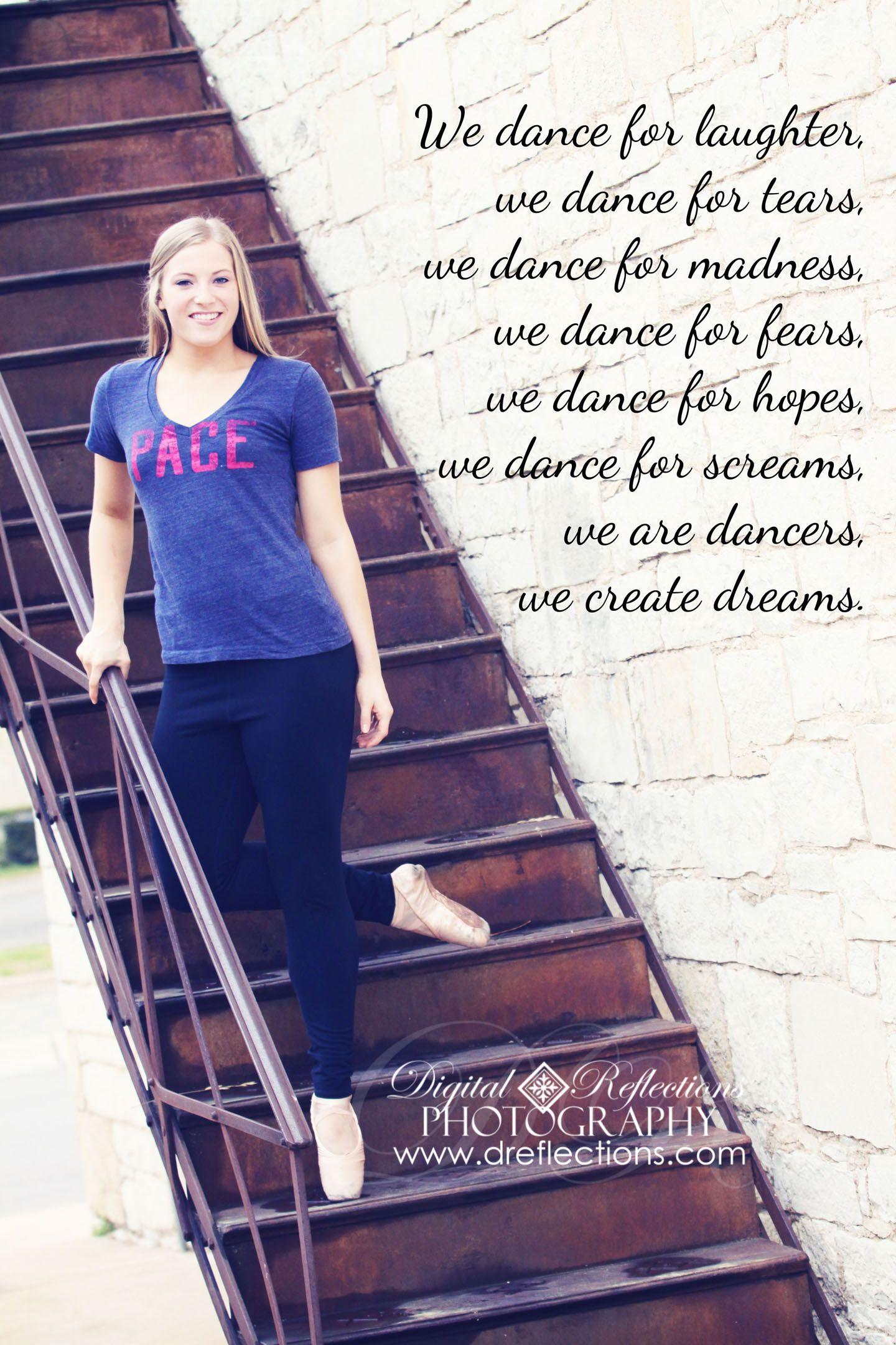 Senior Photo, Dance Quote, Pace University, Heading to NYC