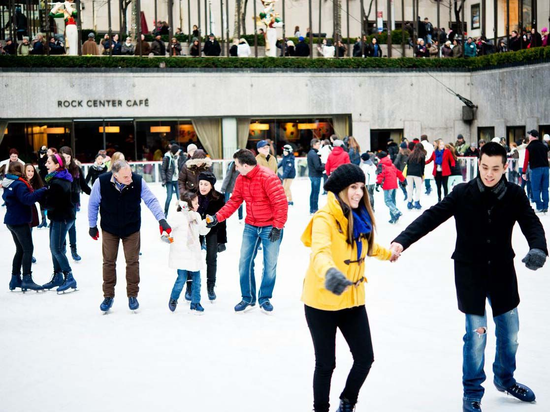 Rockefeller ice skating
