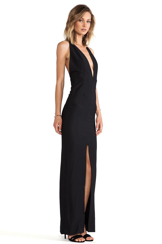 Long black dress london