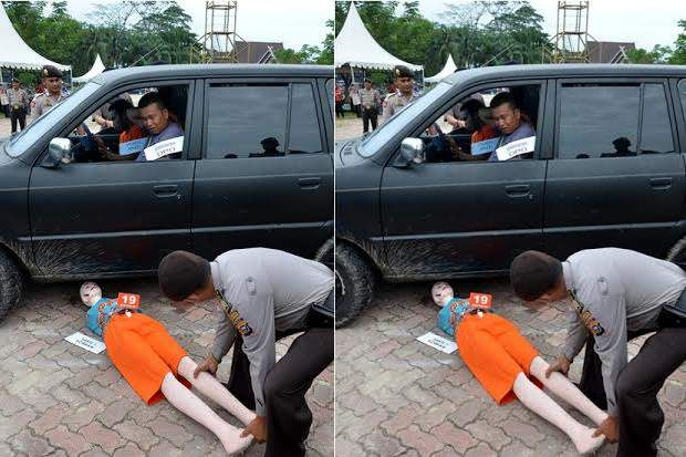 Sadis! Anggota TNI Tewas Dilindas dan Diseret Mobil