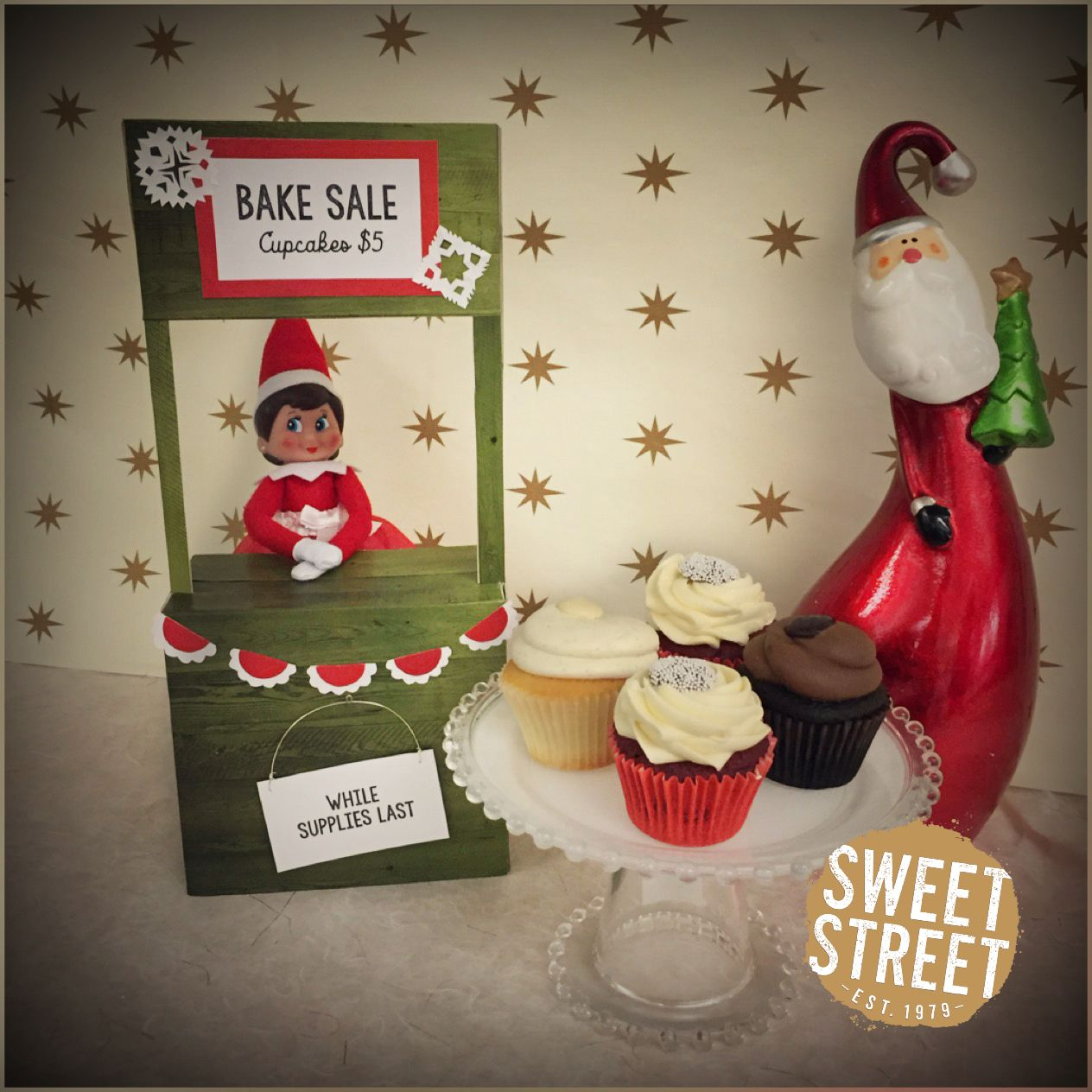 Bake sale anyone? Our Elf on the Shelf, Mod, is raising money for ...
