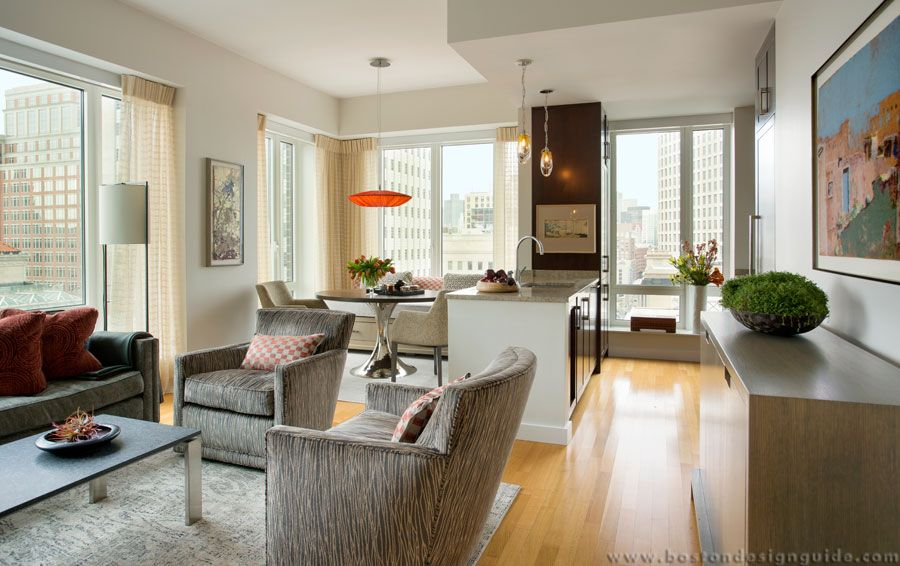 Daher Interior Design  Highend Interior Design In Boston Ma Delectable Living Room Boston Design 2018