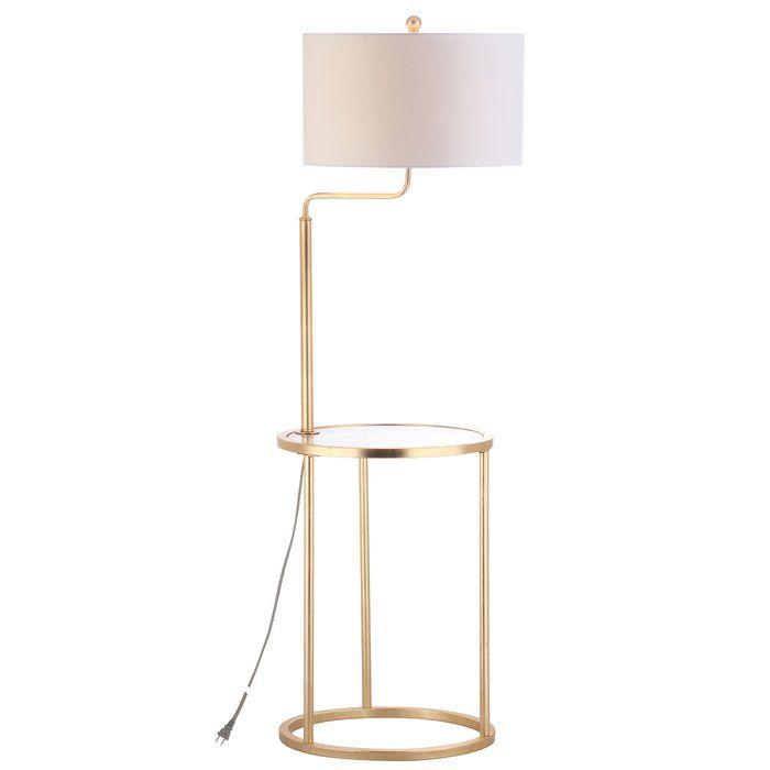 Side Table Floor Lamp   Wayfair