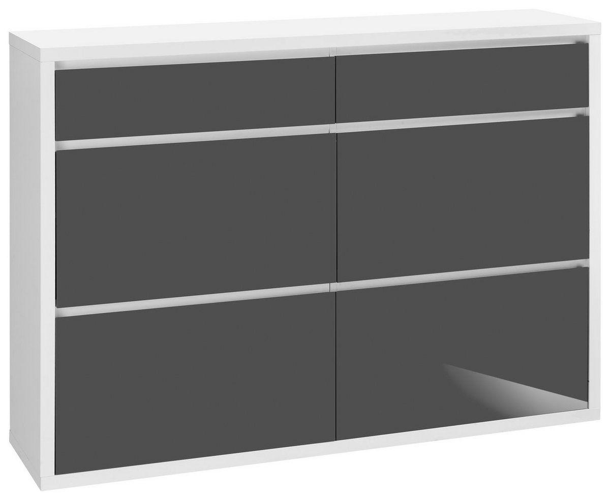 Schuhschrank Spazio Breite 133 5 Cm Mit Griffloser Optik