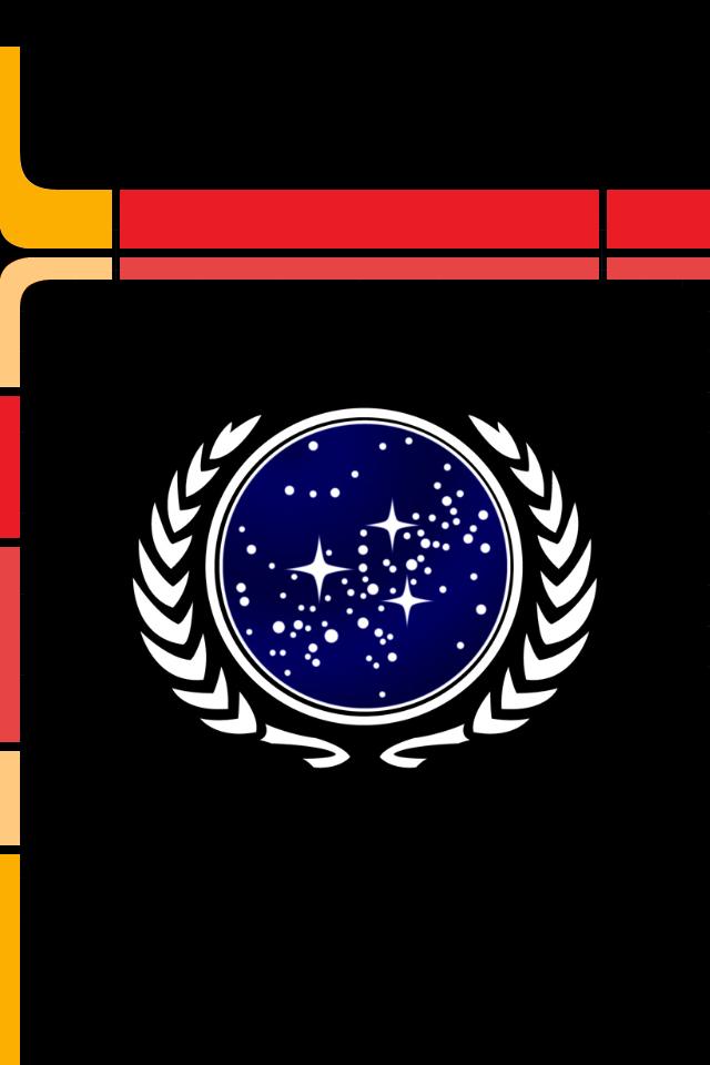 Lcars Phone Wallpaper Star Trek Wallpaper United Federation Of Planets Star Trek Universe