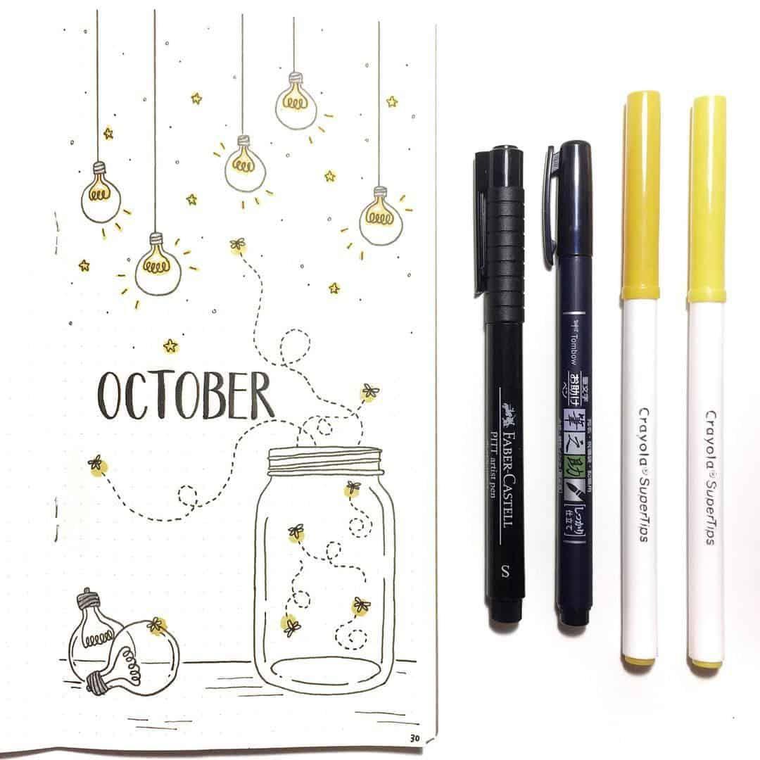 21 Illuminating Light Bulb bullet journal ideas | My Inner Creative