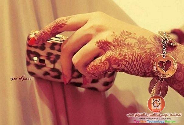 نقش حناء 2014 نقش حناء سعودي خليجي هندي جديد ناعم مجلة توب ماكس Unique Henna Henna Designs Mehndi Designs