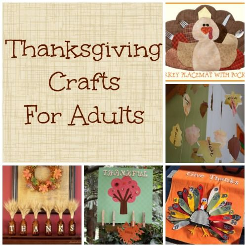 Holiday Fun Thanksgiving Crafts