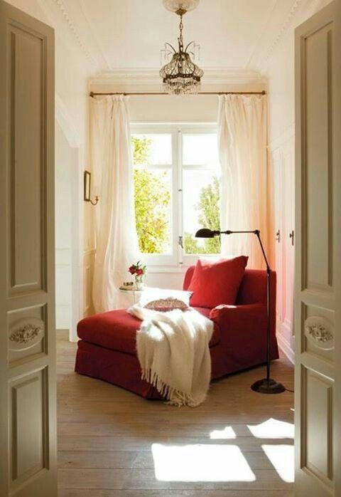 Um cantinho para descansar...ler um livro ♥♡♥