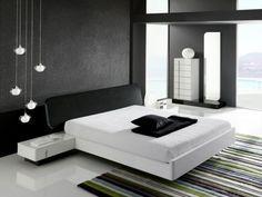 Beautiful minimalist bedroom design | www.bocadolobo.com #bocadolobo #luxuryfurniture #exclusivedesign #interiodesign #designideas #nightstandsideas #nightstands #bedroomideas #nightstanddesign