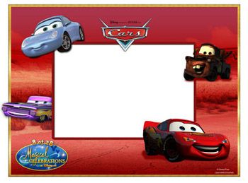 cars printable frame disneys free digital download prizes from 2009 magical celebrations sweepstakes skgaleana