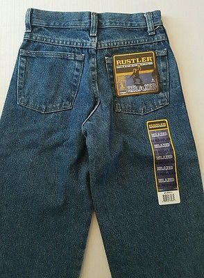 HUGE BACK TO SCHOOL SALE!  NWT Rustler Boys Relaxed Jeans Size 10 Regular #15