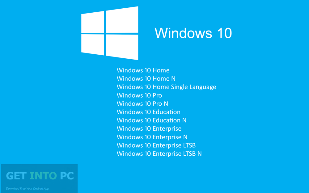 windows 10 home 32/64 bit oem license + download