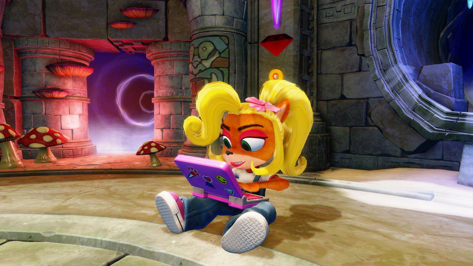 Video Game Crash Bandicoot N Sane Trilogy Coco Bandicoot 1080p