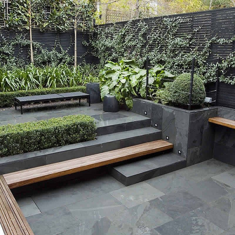 Modern Garden Design Ideas: Uncomplicated Contemporary Design