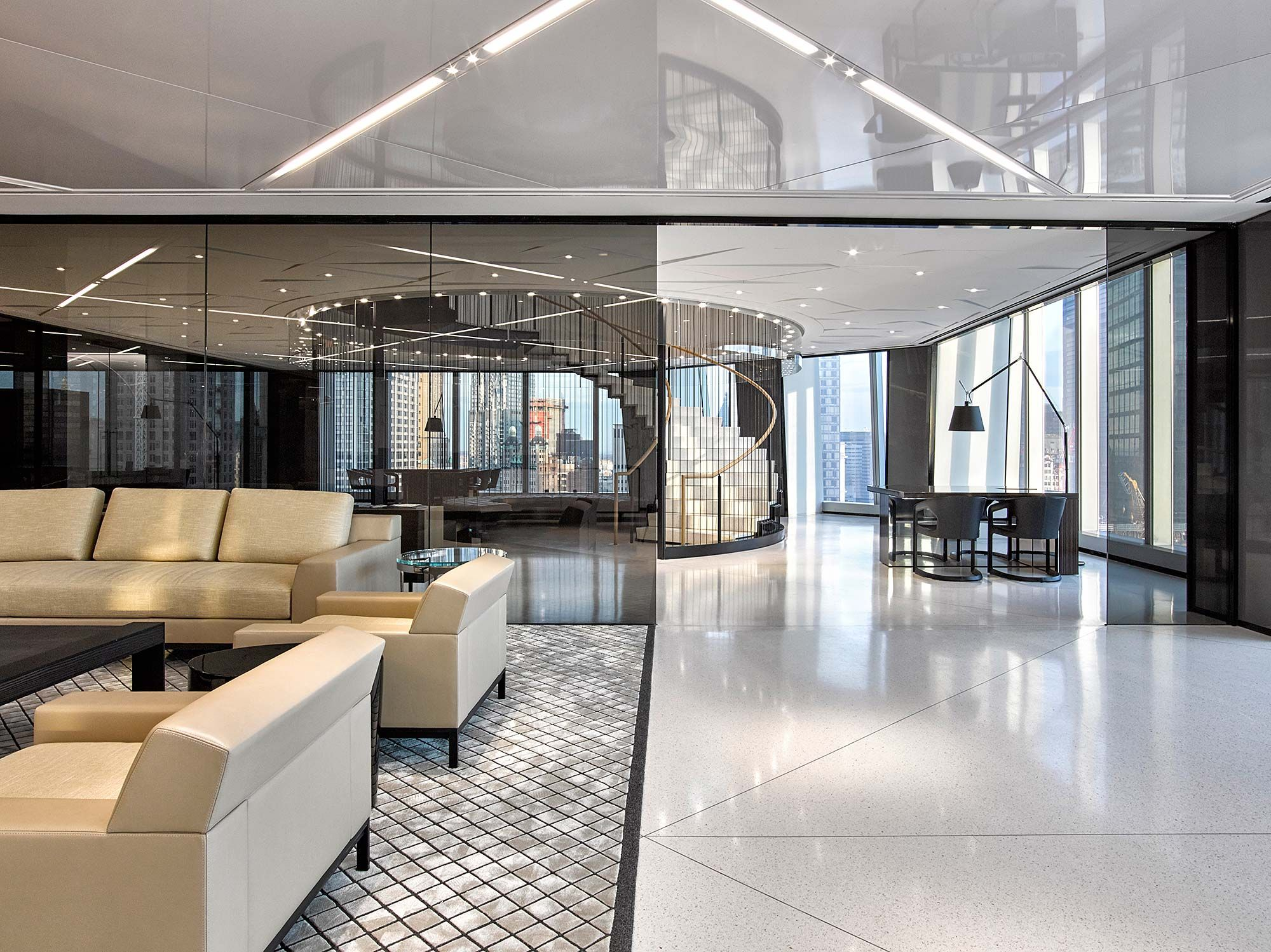 In a transformational design and fitout over 25 floors