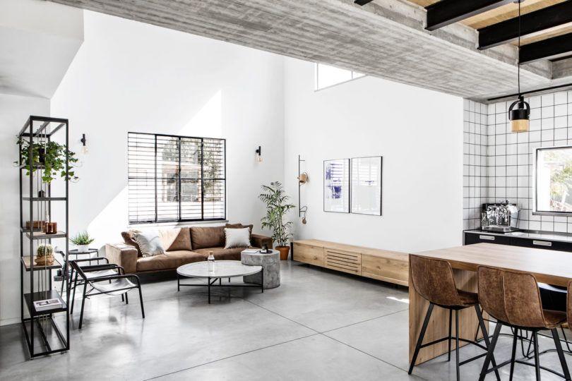 A Modern Monochromatic House In Nir Am Israel Design Milk