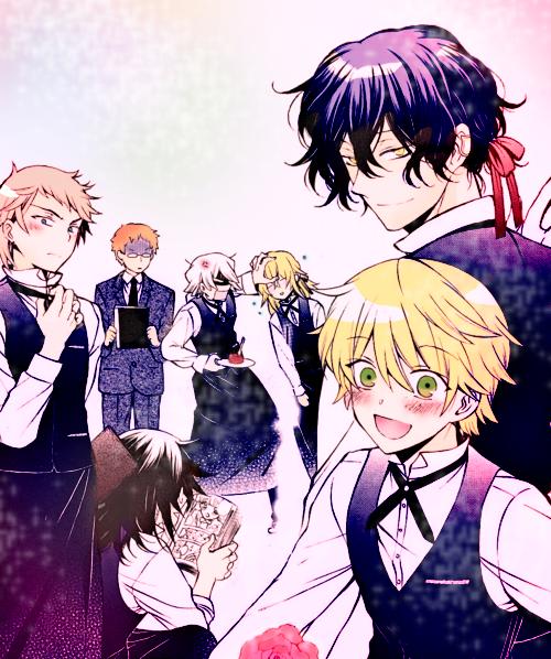 Haikyuu Manga Host: Pandora Host Club By LiyiBezarius Pandora Hearts Omake XD