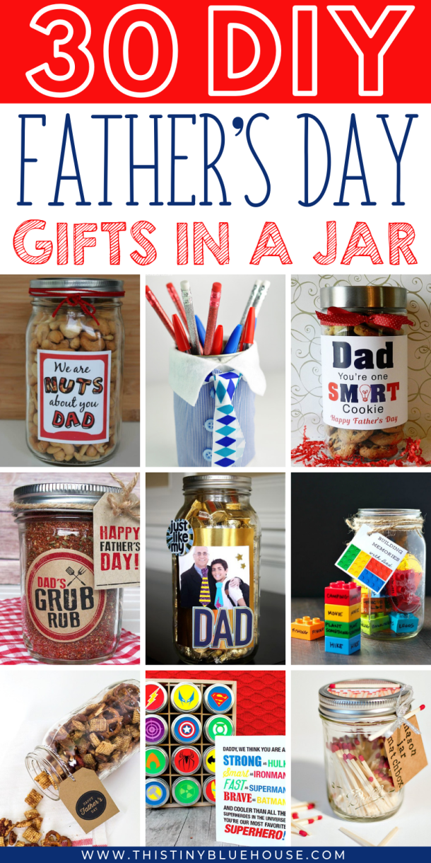 30 Thoughtful DIY Father's Day Gifts In A Jar