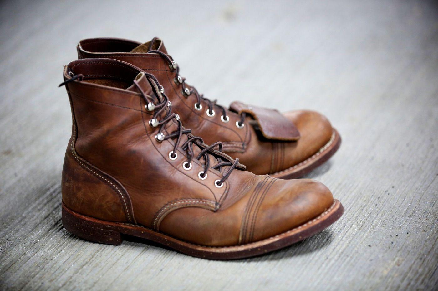 REDWING-IRON-RANGER-BOOTS_3 | motor boots | Pinterest | Gears