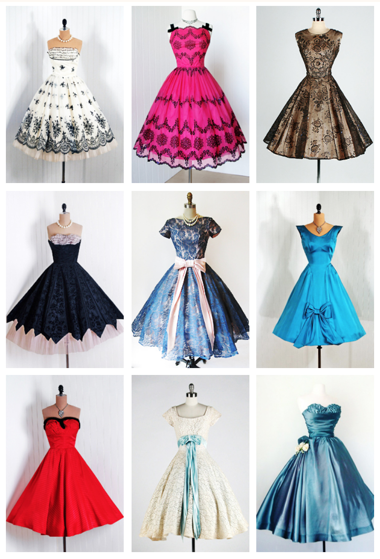 Pin By Rachel Davis Young On Fashion Prom Dresses Vintage Cocktail Dress Vintage Beautiful Dresses