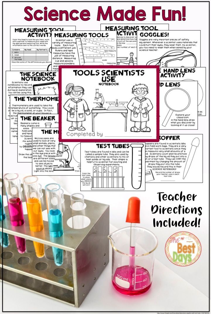 Tools Scientists Use: A Notebook for Little Scientists ...