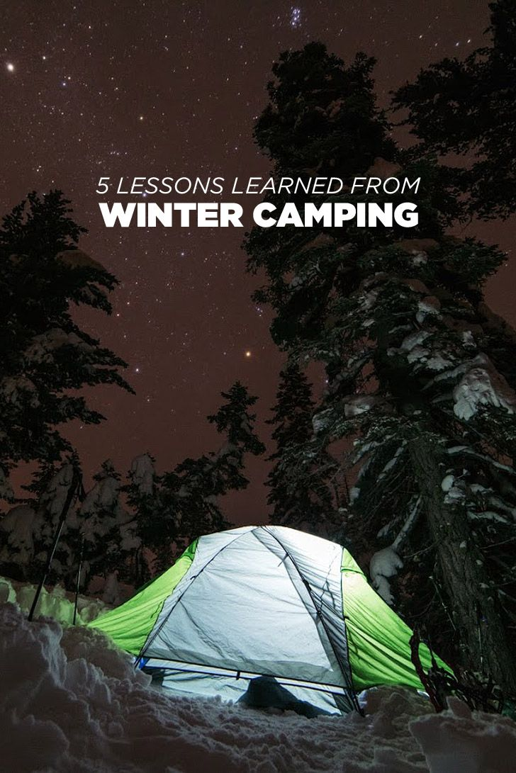 Photo of 5 Lessons Learned from Being Unprepared for Winter Camping