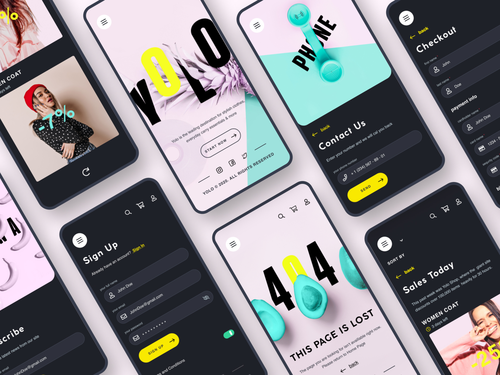 Pin on Mobile design inspiration