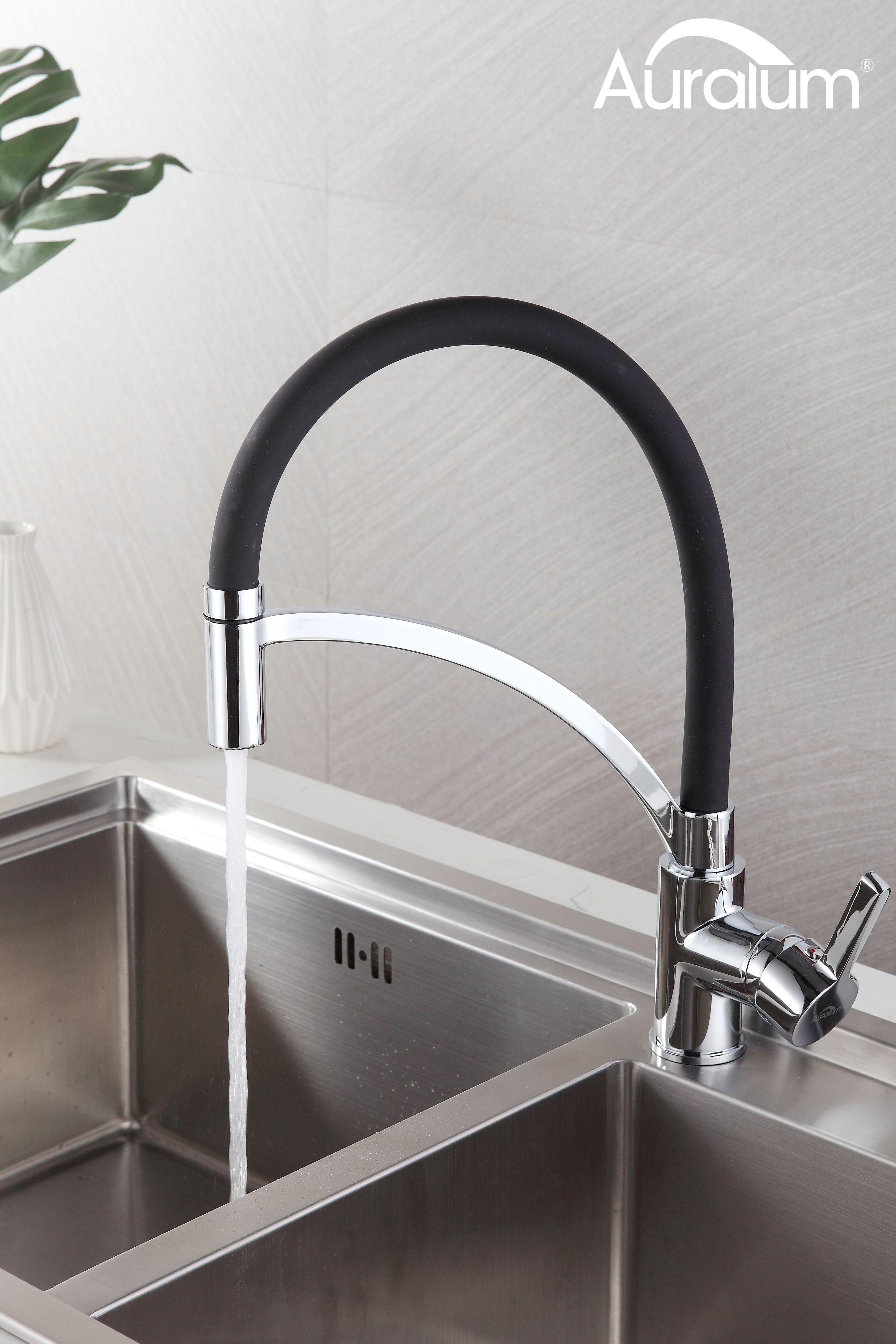 Schwarz Wasserhahn Mit Abnehmbar Brause Wasserhahn Kuche Kuchenarmatur Wasserhahn