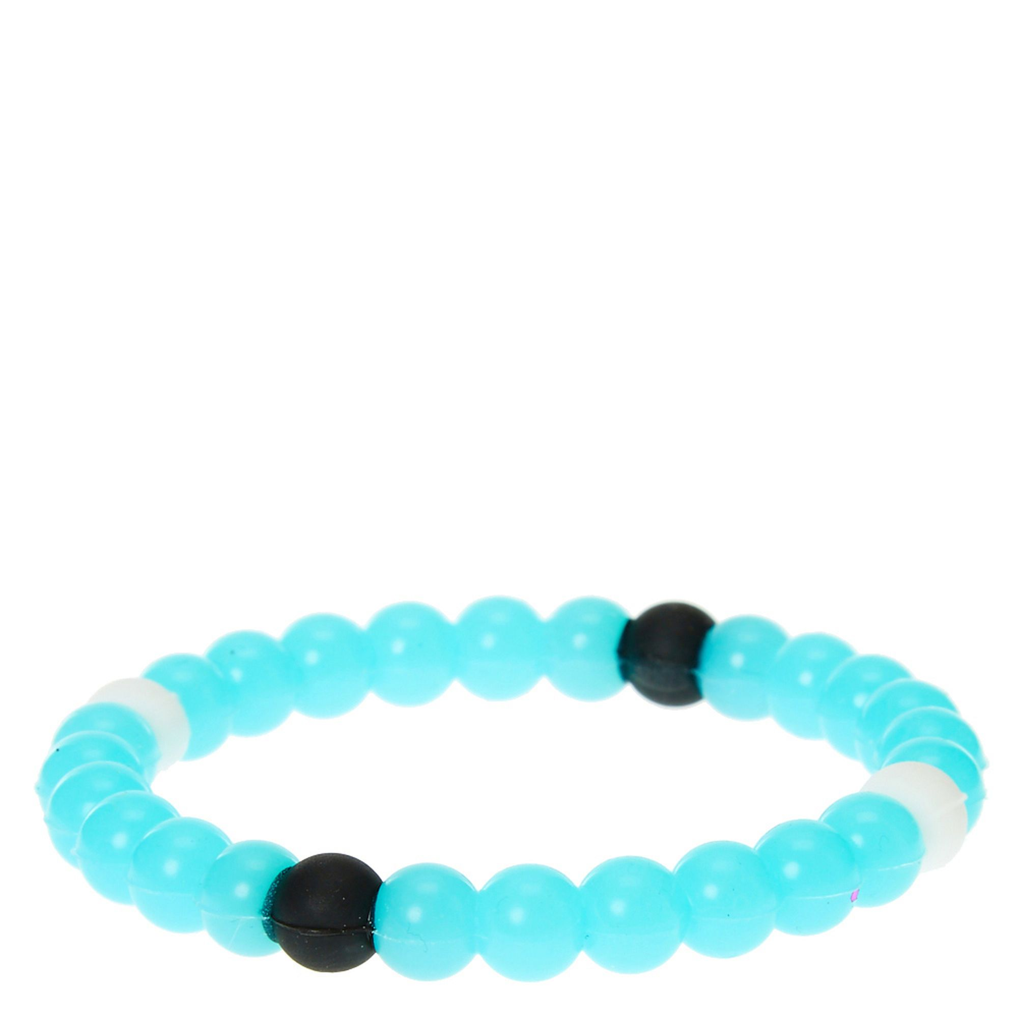 Claire's Glow In The Dark Fortune Stretch Bracelet