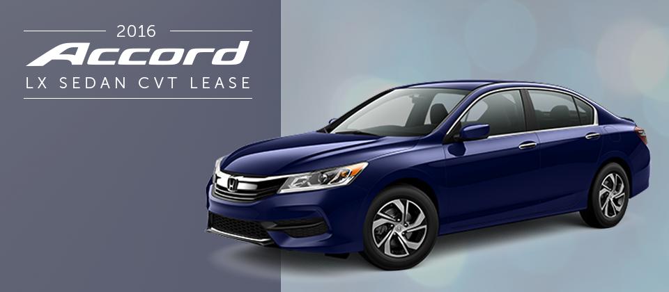 Lease A 2016 Honda Accord At Crown Honda Of Greensboro For $189/mo