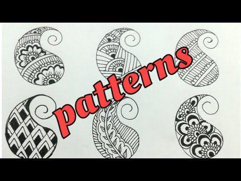 Mehndi Patterns Basic : Basic steps of mehndi design class filling patterns for