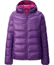 love this  light but warm jacket!!! purple <3 it !! Women's Down Jackets - Ultra Light Down Collection for Women | UNIQLO