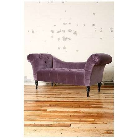 Pretty Purple Fainting Couch I Want One