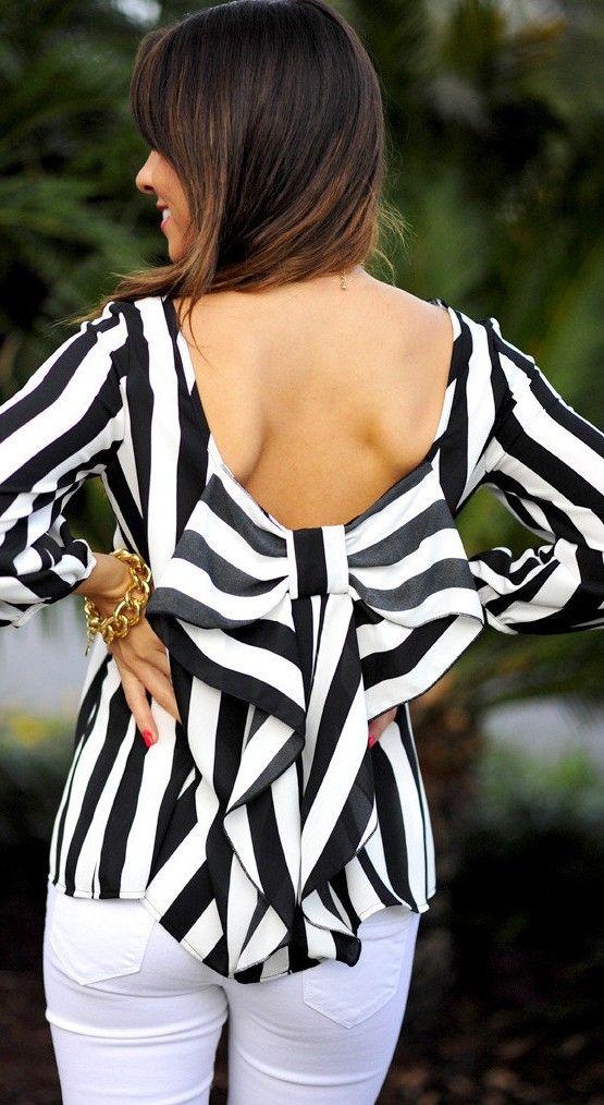 striped fashion ♥✤ | Keep the Glamour | BeStayBeautiful
