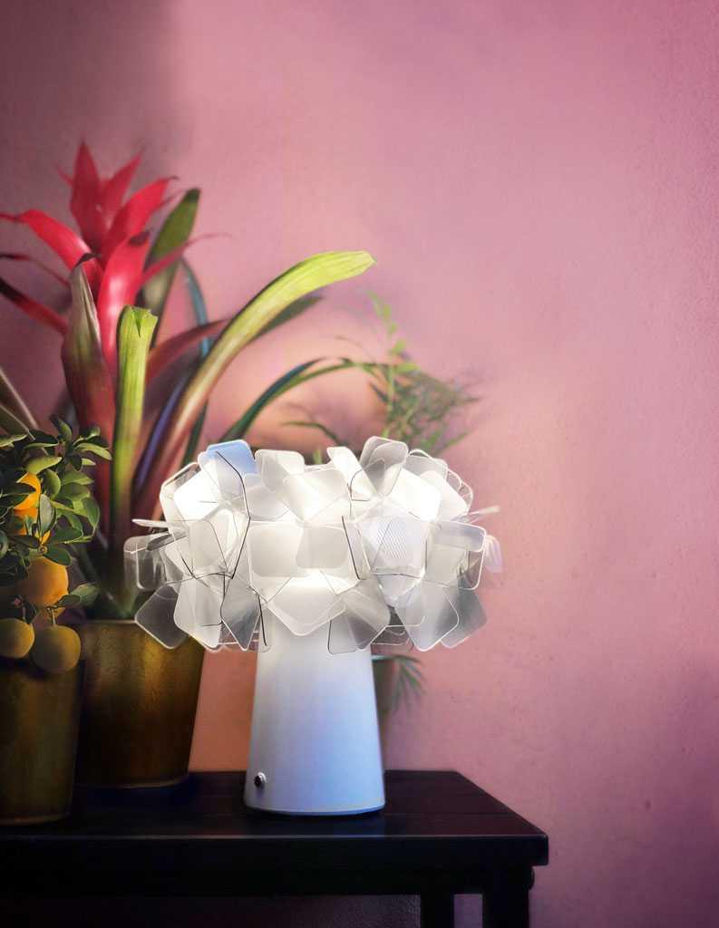 Slamp Clizia Battery Tischleuchte Tischleuchte Abendessen Im Freien Italienische Designer
