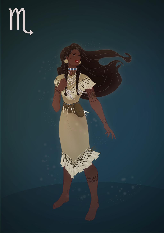 Scorpio - Pocahontas by Grodansnagel