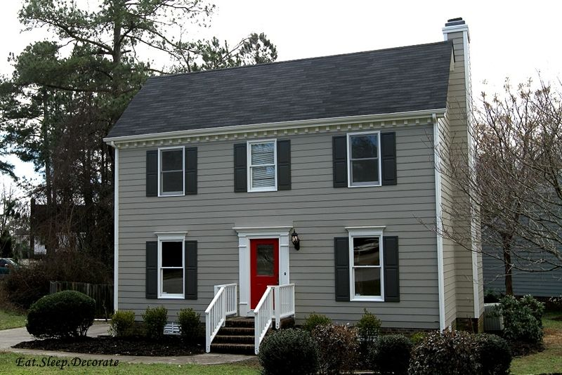 Exterior Paint Colors Main Color Sandy Hook By Benjamin Moore Shutters Side Doors Kendall