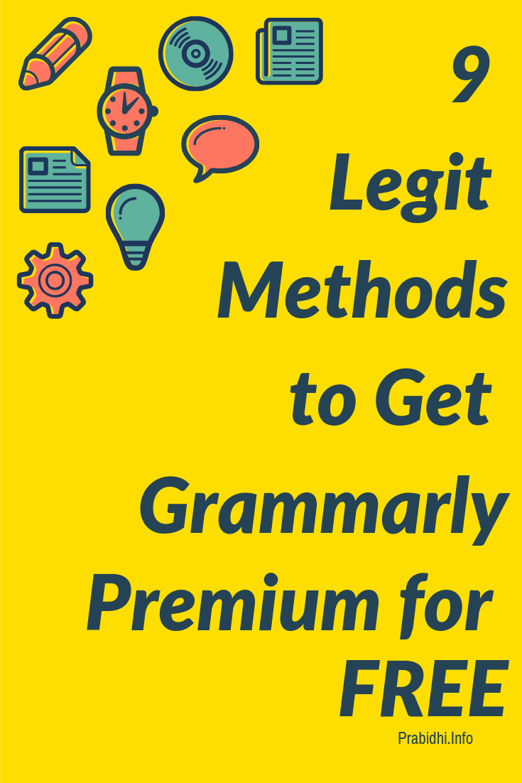 How to get Grammarly Premium Trial for Free? [9 methods