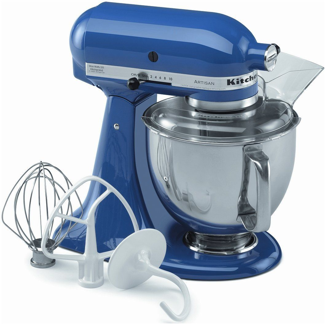 Amazon.com: KitchenAid KSM150PSER Artisan Stand Mixer with Pouring ...
