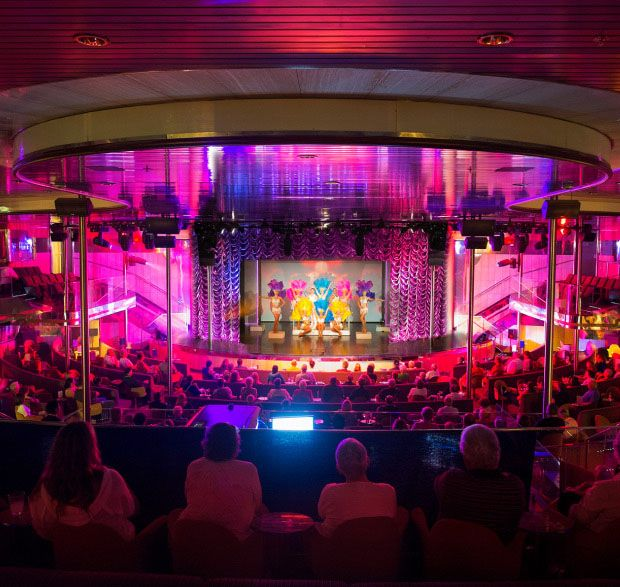 Cruise ship entertainment is something we specialize in ...