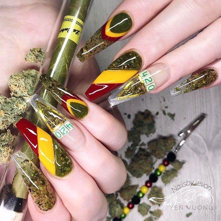 4/20 Weed nails