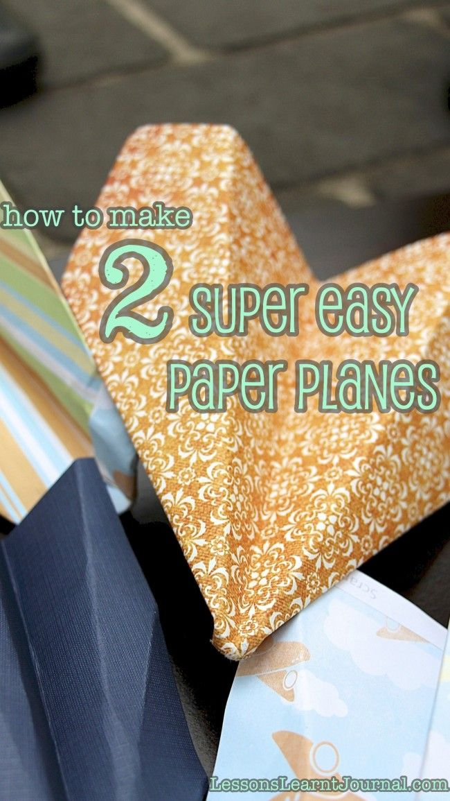 Make Paper Airplane: Essential Childhood Play | Lessons ...