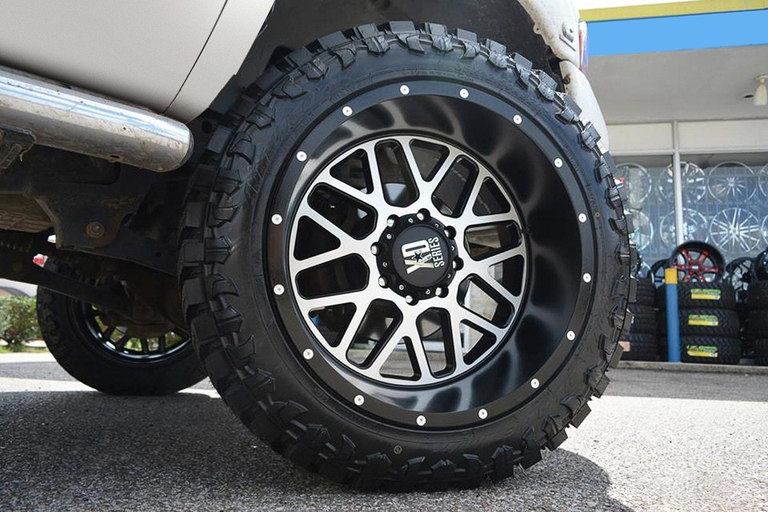 Xd Series Xd820 Grenade Satin Black With Machined Face Truck