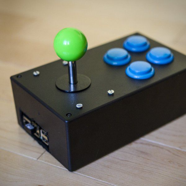 Find out how to make an easy portable arcade console