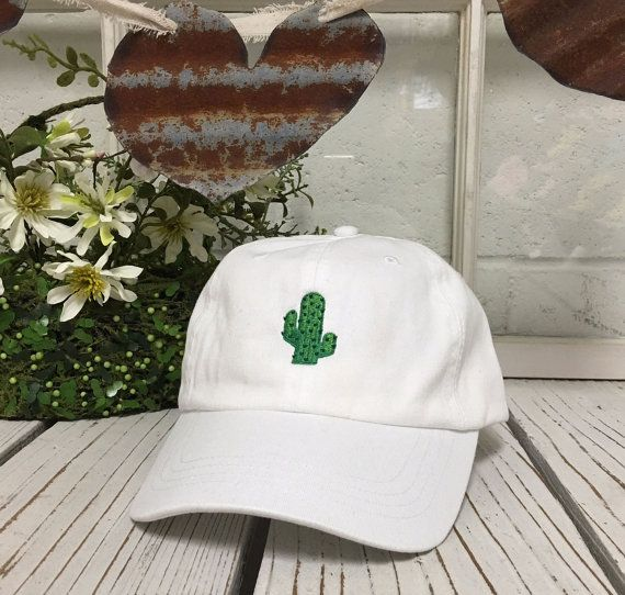 272ed86fe3a New Hat CACTUS Embroidered Low Profile Hat by TheOneStopOutlet