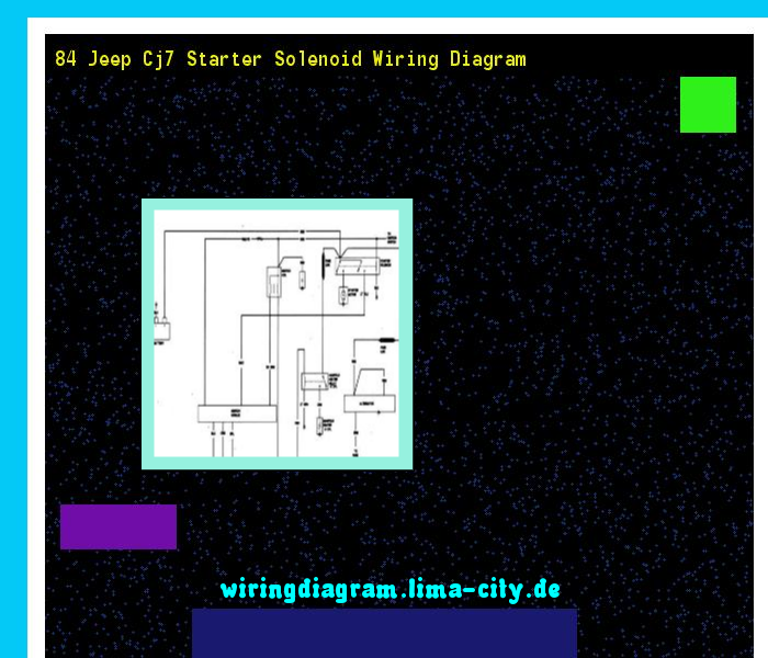 84 jeep cj7 starter solenoid wiring diagram wiring diagram Diagram for Power Supply
