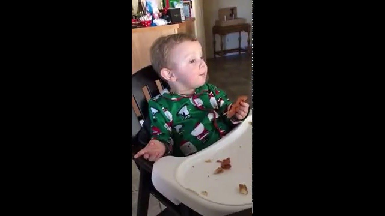 Watch This Baby Has the Most Hilarious Reaction to Hearing His Grandpa Roar Like a Lion video